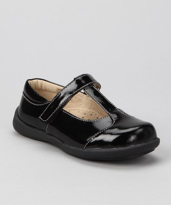 Black Patent Kai Grace T-Strap Shoe
