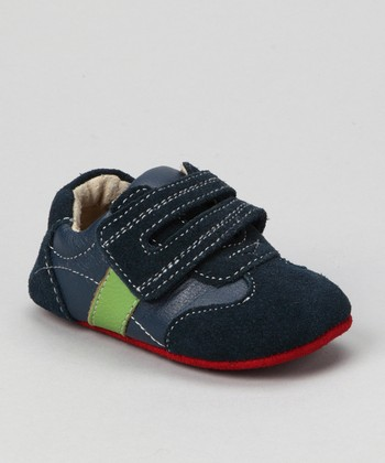 Blue Smaller Henning Trainer Shoe