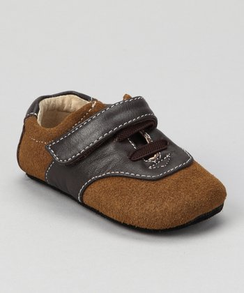 Camel Smaller Lucas Saddle Shoe