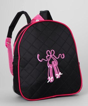 Seesaws & Slides Black Ballet Shoe Backpack