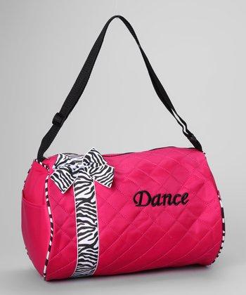 Seesaws & Slides Fuchsia Bow 'Dance' Duffel Bag