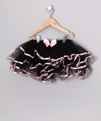 Black Bow Tutu - Infant