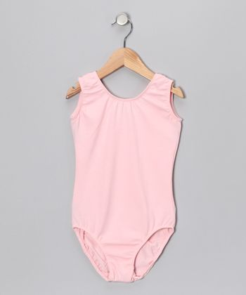 Pink Leotard - Toddler & Girls