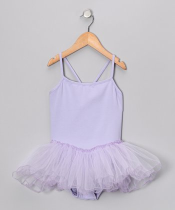 Lavender Skirted Leotard - Toddler & Girls