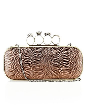 Bronze Ring Clutch