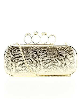 Gold Ring Clutch