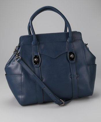 Navy Blue Doctor Satchel