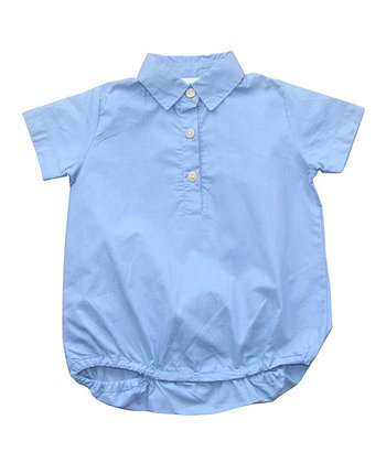 Blue Organic Bodysuit - Infant