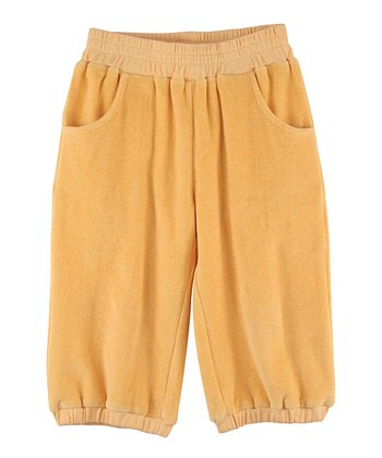Apricot Velour Organic Pants - Infant, Toddler & Girls