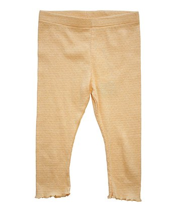 Apricot Organic Leggings - Infant, Toddler & Girls