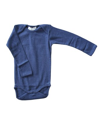 Navy Organic Bodysuit - Infant