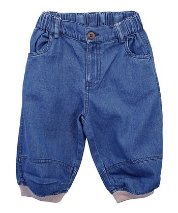 Classic Wash Organic Relaxed Jeans - Toddler & Boys