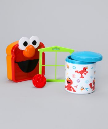 Blue Elmo Lunch Set