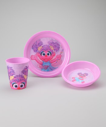 Pink Abby Tableware Set