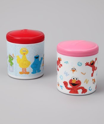 Pink & Red Thermal Container Set