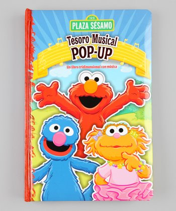 Sesame Street Spanish Musical Pop-Up Hardcover