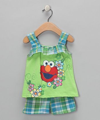 Grass Tulip Swing Top & Shorts - Infant