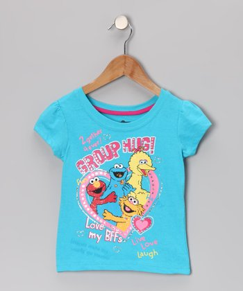 Blue 'Group Hug!' Tee - Toddler