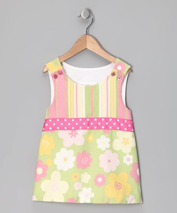 Pink Daisy Aline Top - Toddler & Girls
