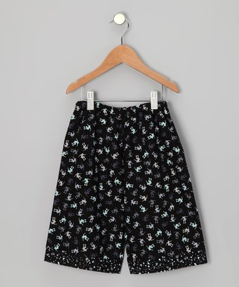 Black Little Skater Boy Pants - Infant & Toddler