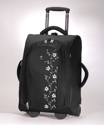 Black Solstice Recycled 20'' Suitcase