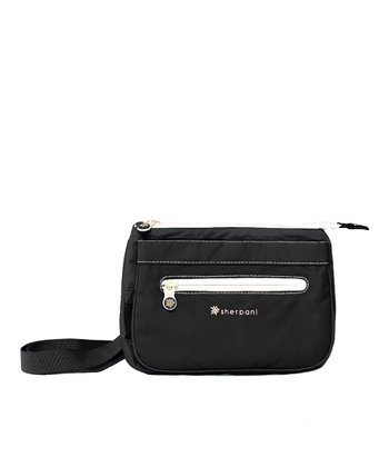 Black Zoom Shoulder Bag