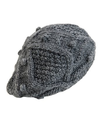 Cement Lotta Wool-Blend Beret
