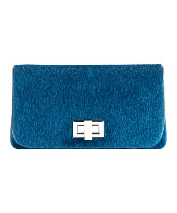Teal Philippa Clutch