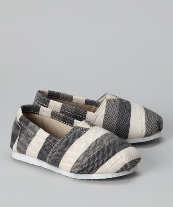 Blue Zebra Slip-On Shoe