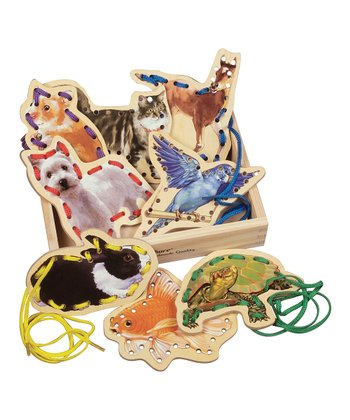 Favorite Pets Lacing Card Set
