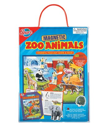 Zoo Animals Play Board Set