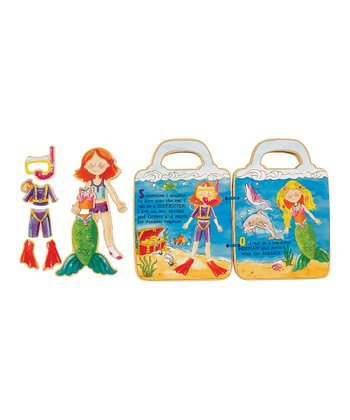 Lilly's Book Magnetic Dress-Up Set