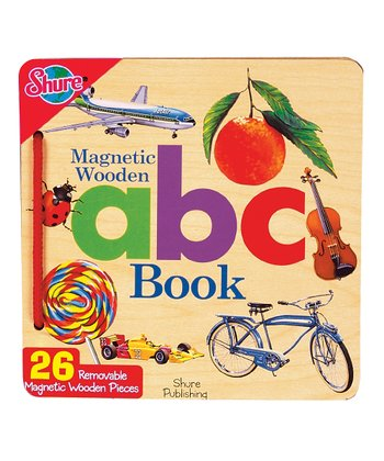 Magnetic Wooden ABC Book