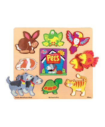 Chunky World Pets Puzzle Book Set