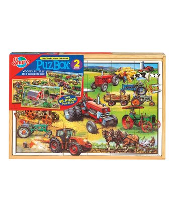 American Tractors Jigsaw Puzzle Set