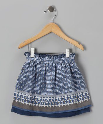 Blue Star Skirt - Infant
