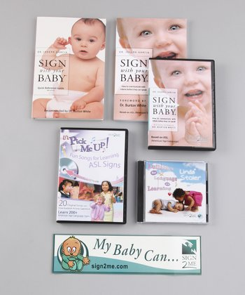 Storage Box Ultimate Quick Start Baby Signing Kit