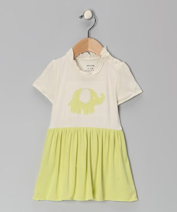 Green Elephant Organic Skirted Bodysuit