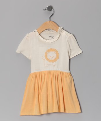 Orangeade Lion Organic Skirted Bodysuit
