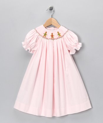 Pink Gingerbread Bishop Dress - Infant & Toddler