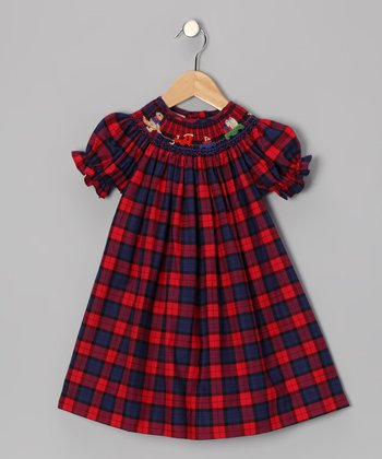 Red Bear Bishop Dress - Infant & Toddler