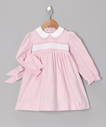 Pink Peggy Smocked Dress - Infant & Toddler