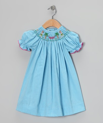 Blue Hula Bishop Dress - Infant, Toddler & Girls