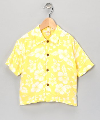 Banana Citrus Punch Button-Up - Infant & Toddler