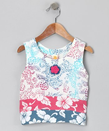 Berry Blast Floral Tank - Infant, Toddler & Girls