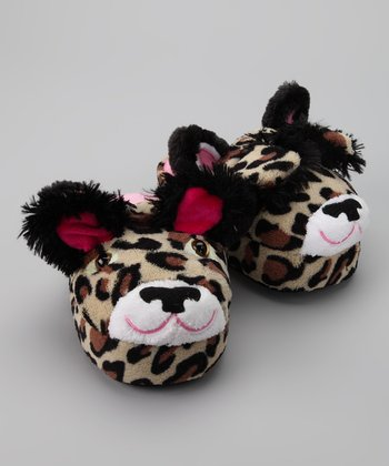 Lucky Leopard Slipper - Kids