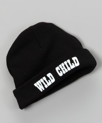 Black 'Wild Child' Beanie