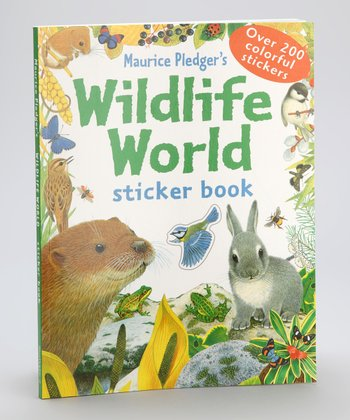 Maurice Pledger's Wildlife World Sticker Book Paperback
