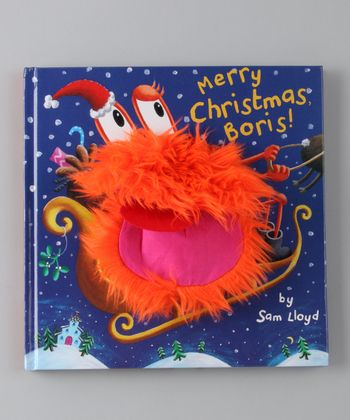 Merry Christmas, Boris! Puppet Pop-Up Hardcover
