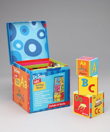 Dr. Seuss ABC Building Block Set